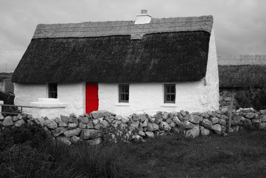 Irish Cottage INTERIORS | silentowl: Vernacular (traditional) Irish Cottage. Part One.