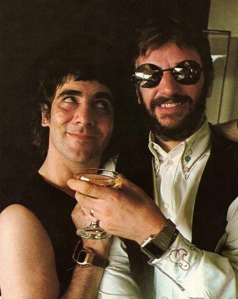 Keith Moon  Ringo Star