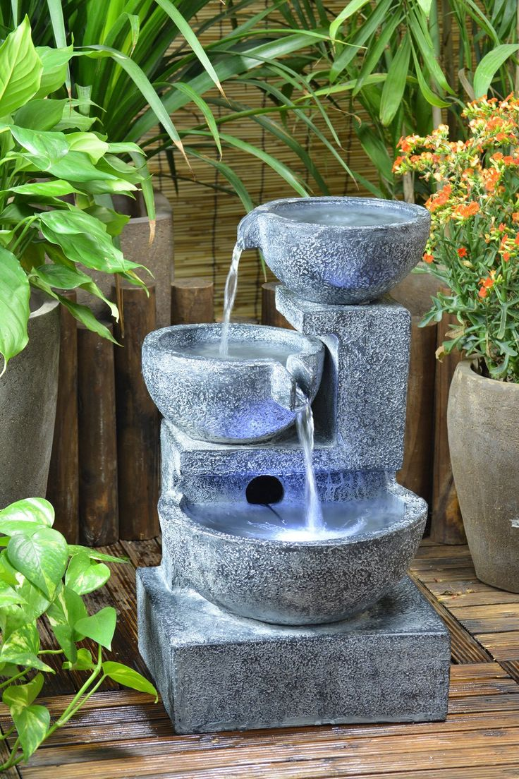 76 best hazel dell images on pinterest landscaping for Garden water fountains