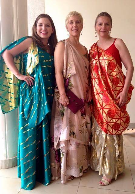 Getting ready for the Wedding Introduction Ceremony in Rwanda! Loving these dresses!