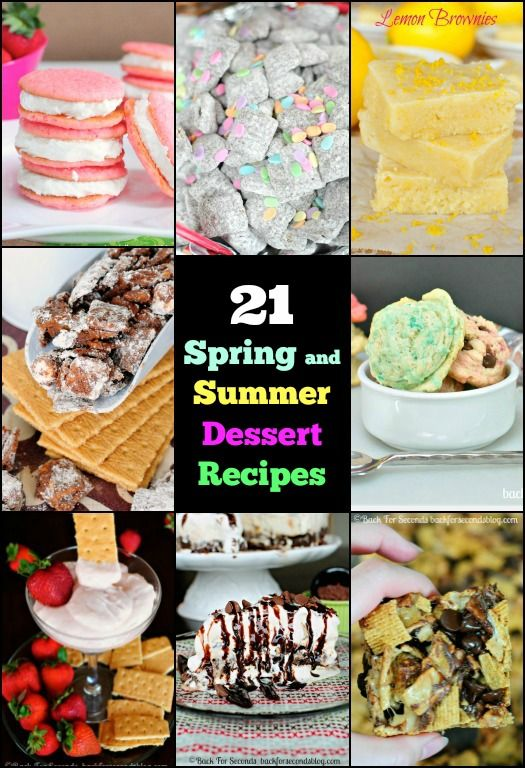 Desserts Second Click Food Recipe Summer Submit