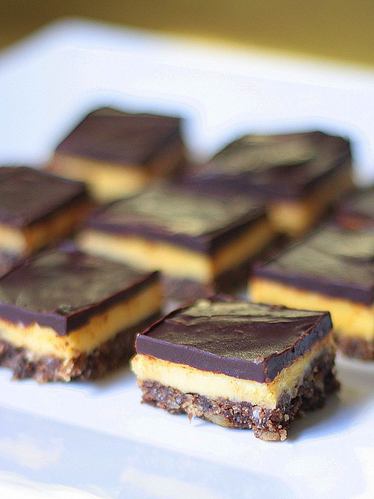 Nanaimo bars are a true Canadian delicacy. Smooth chocolate, simple vanilla, and a coconut walnut base make for a dessert that is completely sinful—but too good to turn down! Nanaimo bars ori…