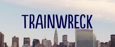 Trainwreck is a comedy film directed by Judd Apatow and written by Amy Schumer.  It stars Amy Schumer, Tilda Swinton, Bill Hader, Brie Larson, Colin Quinn, Barkhad Abdi, Mike Birbiglia, Jon Glaser, Vanessa Bayer, John Cena, Ezra Miller, LeBron James, Method Man, Jim Norton and Norman Lloyd.