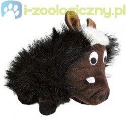 TRIXIE Zabawka dla psa pluszowa dzika świnia z głosem 17cm