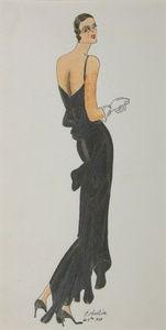 [1920's Fashion Design]   Sanders of Oxford