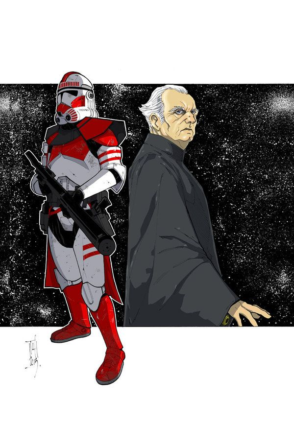 Commanders and Generals: Thire/Palpatine COLOR by Hodges-Art.deviantart.com on @deviantART