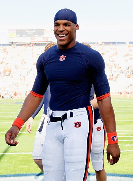 Cam Newton (seriously, what a HOTTIE! Blue and orange just compliments him more.)