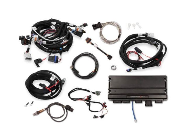 Holley Efi Terminator X Mpfi Tuner Kit W Ev1 Injector Harness