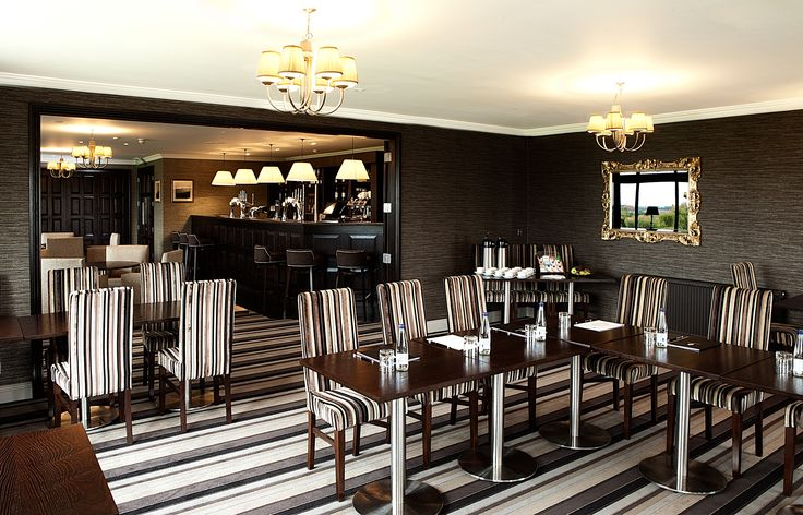 The Fairways Suite is a flexible space made up of three adjacent rooms
