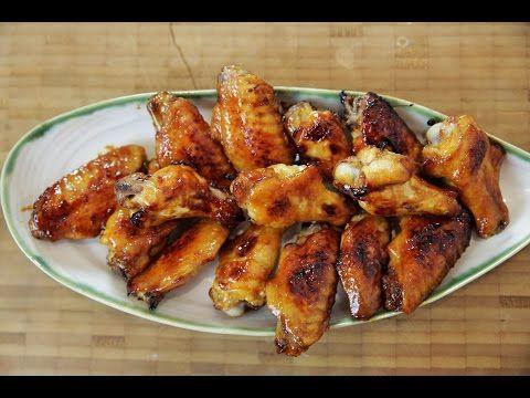 Ballı Soya Soslu Tavuk Kanatları Tarifi - İdil Tatari - Yemek Tarifleri - YouTube