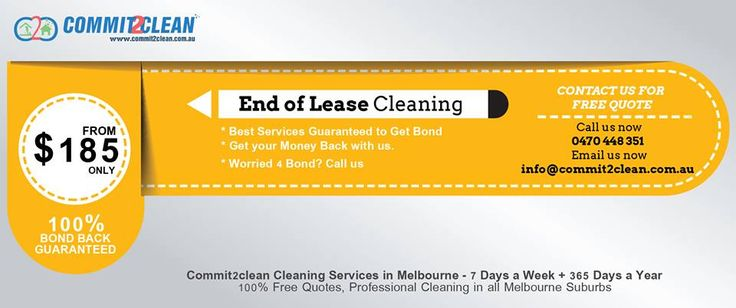 we are the experts in end of lease cleaning and bond cleaning in Melbourne. We have cleaned hundreds of homes throughout Melbourne over the years helping tenants get their bond back from their rental property managers and landlords.