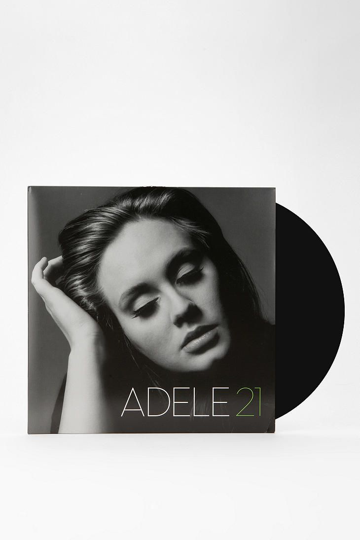 Adele - 21 LP and MP3 - Urban Outfitters