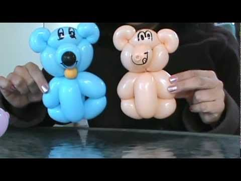 OSITOS BONITOS Y FACILES . EASY BEARS . GLOBOFLEXIA. - YouTube