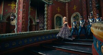 More Sugarplum Fairy... Screen capture from the teaser for the Nutcracker movie coming out next Christmas...