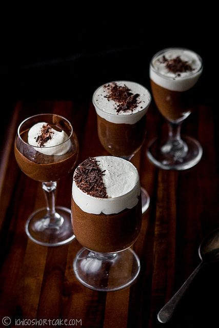 Frangelico & Chocolate Mousse with Baileys Cream @Jenny Ge