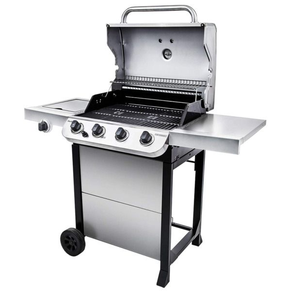 Char Broil Performance 475 4 Burner Cart Liquid Propane Gas Grill Black Stainle In 2020 Gas Grill Propane Gas Grill Char Broil