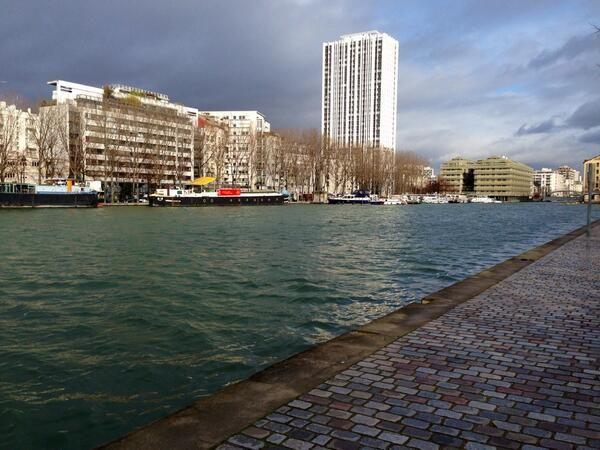 Paris, bassin de la Villette #Paris19
