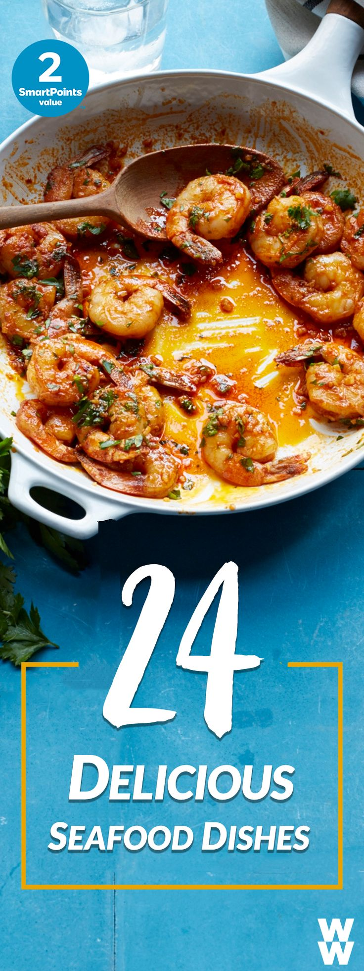 Garlic Seared Shrimp, Grilled Mahi Mahi, Mexican Spiced Crab Burgers + more! | Spice up your Good Friday dinner with 24 fun, fresh seafood dishes.