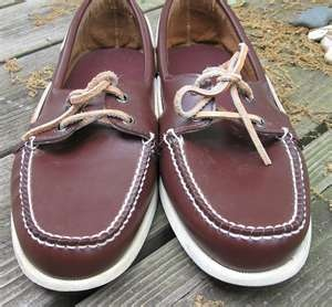 Topsiders Were All The Rage Back In High School. We called em' Docksides or Docksider Shoes