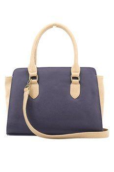 Alibi Paris Arra Top-handle Bag - Navy