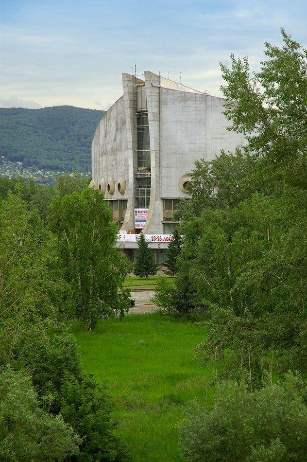 Дворец спорта им. Ивана Ярыгина, Красноярск  Ivan Yarygin Sports Palace, Krasnoyarsk