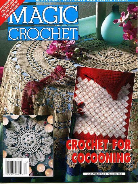 MAGIC CROCHET Nº 153 - Marcela Nagy - Picasa Web Albums #crochetmagazine