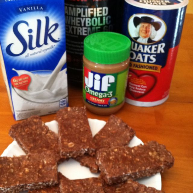 internet glasses   39 Easy Homemade Chocolate Peanut Butter Protein Bars  39   thanks leanbodylifestyle