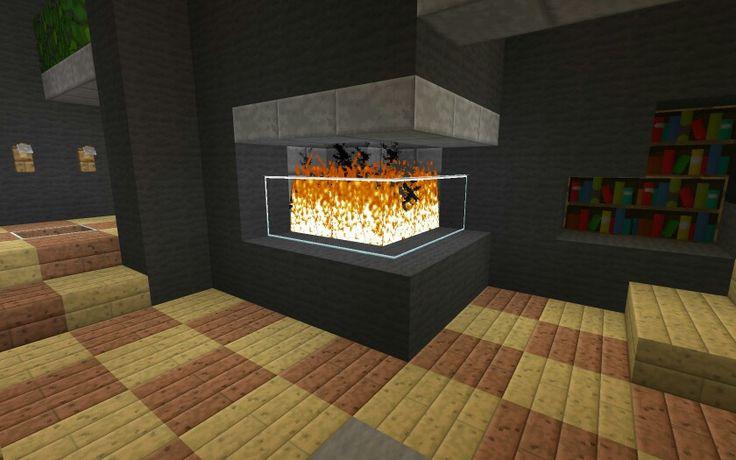 Modern fire place