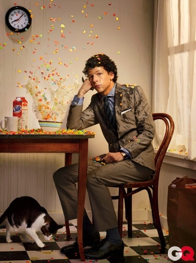 1000+ images about Men With Cats - I love! on Pinterest ... Jesse Eisenberg Cats