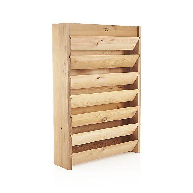 Gronomics Vertical Garden Bed Crate And Barrel