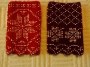 Croatia Knitting Patterns : Croatian beaded knit cuffs Croatia- Slavonia- Ethnographic ...
