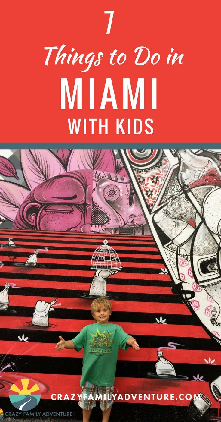 7 Things to Do in Miami, Florida with Kids. Here are some family travel destination ideas for your next trip to Miami Florida. From South Beach to Little Havana and off the beaten path in the Everglades. Miami has something for the whole family. #miami #florida #miamiwithkids #everglades #thingstodoinmiami #southbeach