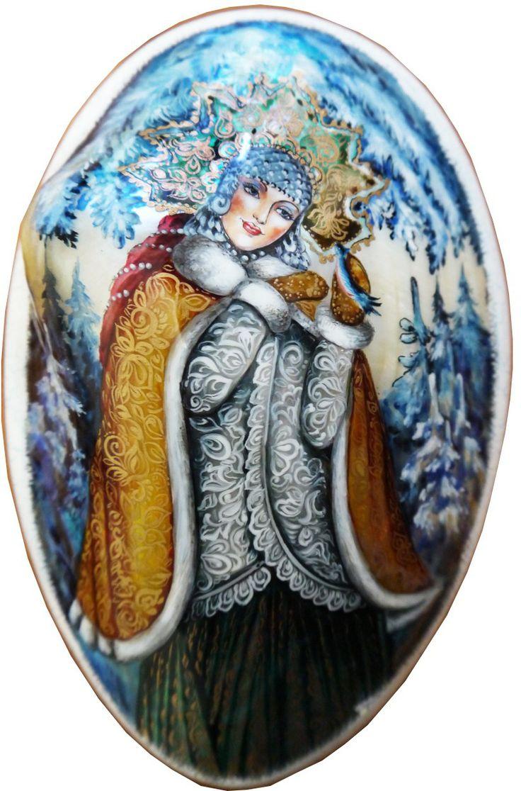 """""""Snow Maiden"""" by Silantyeva"""