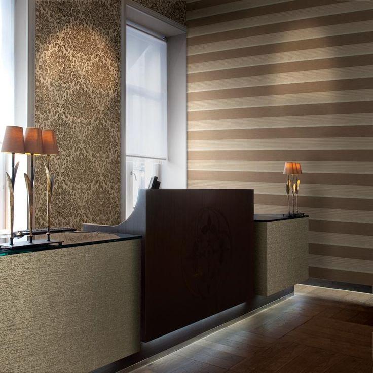 Купить коричневые обои на флизелиновой основе для стен по доступной цене | Официальный интернет магазин коричневых обоев на флизелине OPTIMA DECOR в России