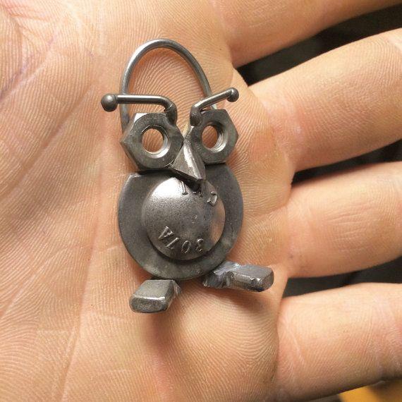 Owl Lab Keychain by OwlLab on Etsy