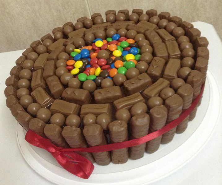 Chocolate Cake With Twix And M Amp