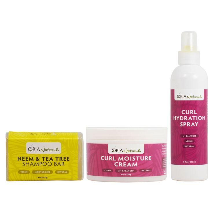 Obia Naturals Neem & Tea Tree Shampoo Bar, Curl Moisture