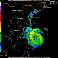 Hurricane Emily was a powerful, early season tropical cyclone that caused significant damage across the Caribbean Sea to Mexico. The storm formed on July10, 2005, in the central Atlantic Ocean before passing through the Windward Islands on July14. Tracking generally towards the west-northwest, the storm gradually intensified as it traversed the Caribbean, peaking as a Category5 hurricane on July16, marking the earliest date for a storm to do so during the course of a given year.