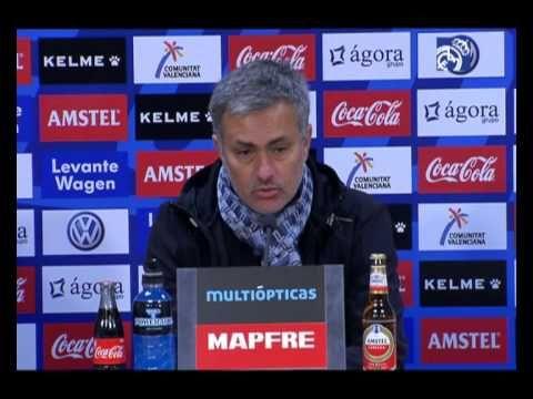 Video Levante 1-2 Real Madrid: rueda de prensa de José Mourinho