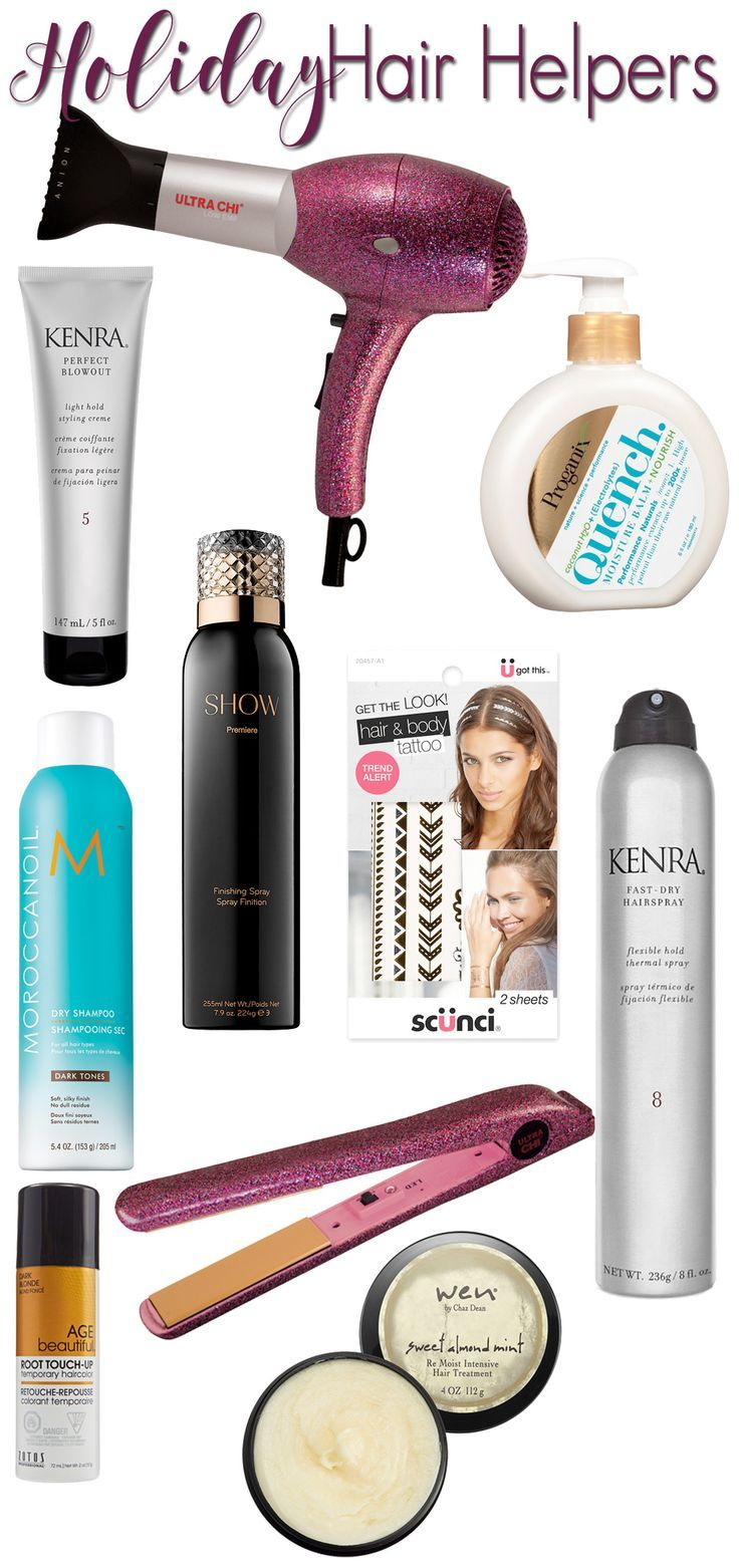10 Ways to Get Your Hair Holiday Ready
