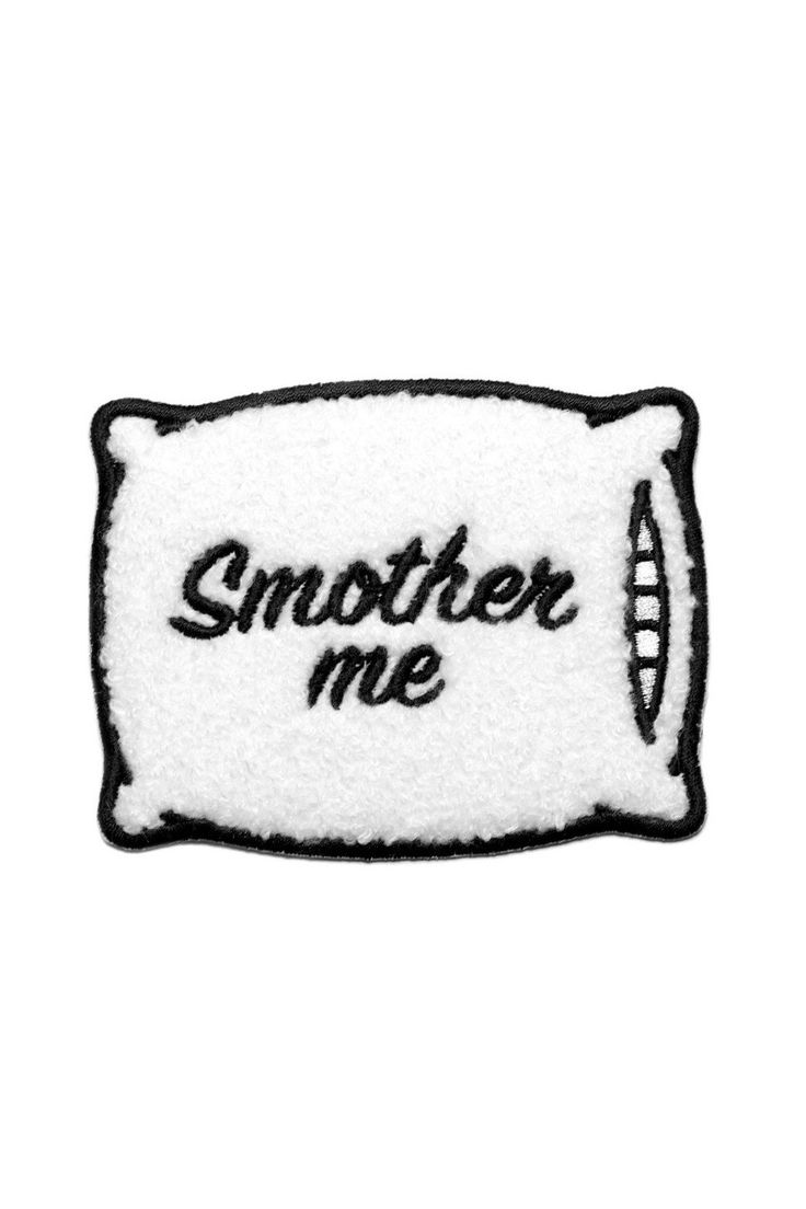 Mean Folk Smother Me Patch