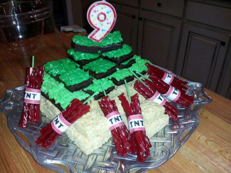 minecraft creeper cakes - Google Search