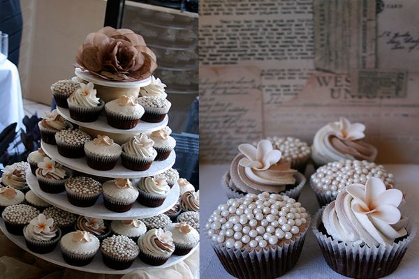 unique cupcakes ideas | cupcake wedding ideas | One Stylish Bride - Ultimate Wedding Ideas