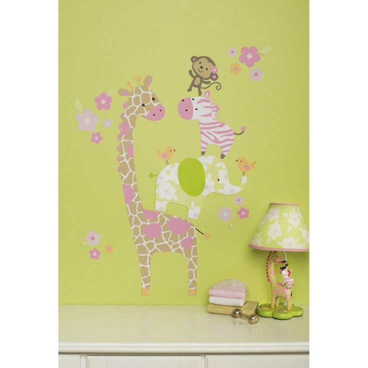 114 best Girls Wall Decals images on Pinterest | Baby room, Wall ...
