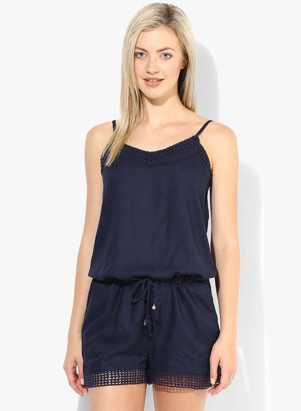Price: Rs 976 #jabong  #fashion #india #indian #dress #dresses #women #clothing #product #forwomen #style #onlineshopping #playsuit #summer #summerdresses #gorgeous #navyblue #only #classy #honeymoon #bride #wedding #happiness #happiness #love #life #blogger #blog #indian #india #indianblogger #blogpost  #goodvibes #happyvibes #vibes #lookstylish #stylish #comfortable