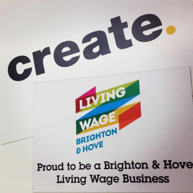 It's #LivingWageWeek. We're proud at Create.net to be a #livingwage business in #brighton. Have you signed your business up to Living Wage UK?