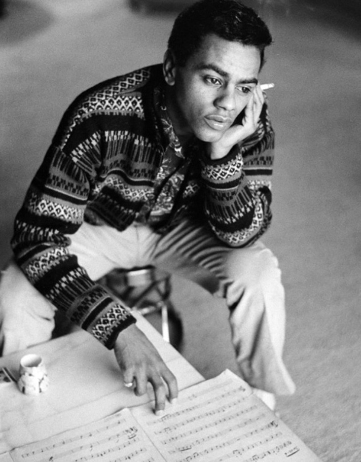 Johnny Mathis, singer of popular music. His hits include Chances Are, Misty, It's Not for Me to Say, Come to Me, A  When A Child Is Born, Certain Smile, Gina, What will Mary Say, Too Much, Too Little, Too Late, & Wonderful Wonderful. He also sang the Family Ties theme song with Deniece Williams. He has sold well over 350 million records worldwide and received the Lifetime Achievement Award by the Academy of Recording Arts and Sciences. He also has been inducted into the Grammy Hall of Fame.