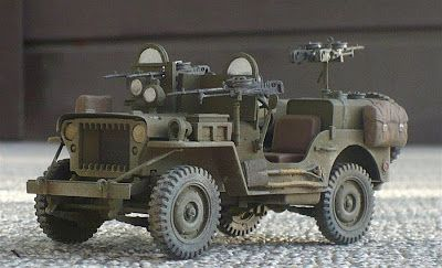 "Here are some images of Italeri's 1/35 scale Willys MB. Note the mosquito. From Wikipedia "" The Willys MB US Army Jeep (formally the..."