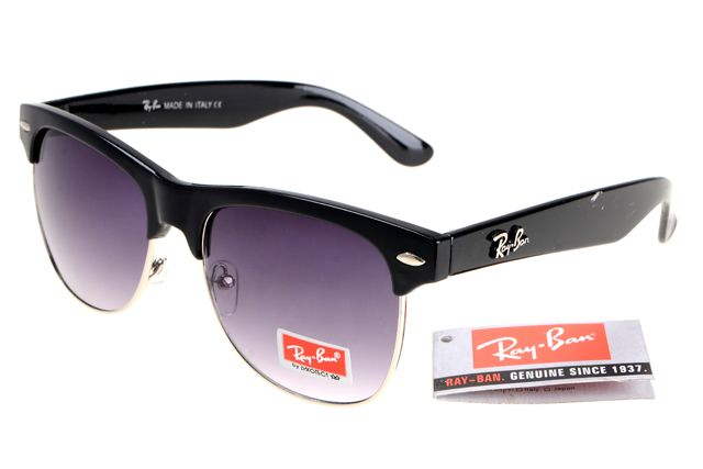 Ray-Ban Clubmaster 95005 Black Frame Gray Lens RB08 [RB122] - $25.88 : Top Ray-Ban® And Oakley® Sunglasses Online Sale Store- Save Up To 85% Off