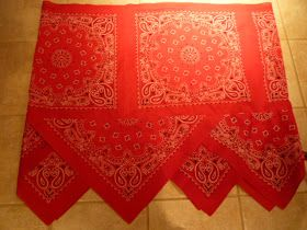 How to make adult bandana skirt!